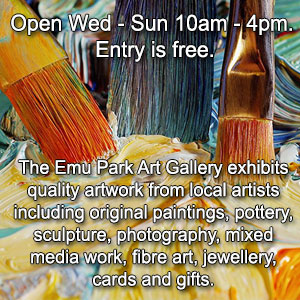 Contact details Emu Park Art Gallery
