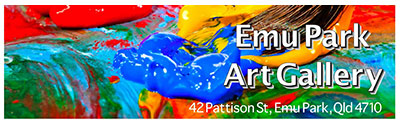 Artist members of Emu Park Art Gallery