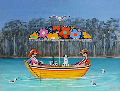 Emu Park Art Gallery Artist Jan Ford. View the April Exhibition